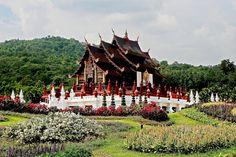 https://flic.kr/p/GgHvCY | Rachapruek Gardens. | IMG_7D_20151024_1245  Rachapruek Gardens Chiang Mai, well worth a visit, even on a dark damp day!