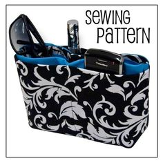 PURSE ORGANIZER PDF Sewing Pattern by thecrochetdiva on Etsy