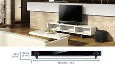 Sound Bar Speaker with wifi - no more annoying speaker cords!