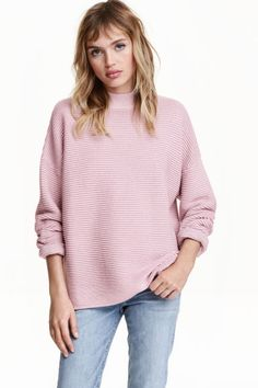 Jumper in a textured knit   H&M