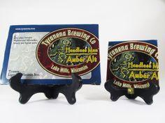 Headless Man Amber Ale Beer Coaster