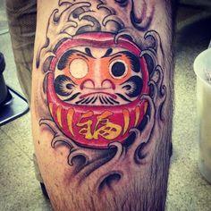 done! #tattoo #daruma #japanese by obaratattoo http://instagram.com/p/vvGHjeoZf2/