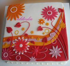 DORTY A SLADKOSTI aneb PEČEME S LÁSKOU - Fotoalbum - -MOJE PEČENÍ- - MOJE DORTY - My cakes - Dort pro sousedku Hanu
