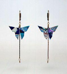 """Résultat de recherche d'images pour """"bijoux en origami"""""""