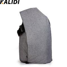 KALIDI Waterproof Large Capacity Laptop Tablet Rucksack Unisex Backpack for Macbook Pro 15.4 Inch 17 Inch Macbook Notebook Bag