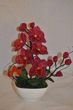Орхидея   biser.info - всё о бисере и бисерном творчестве