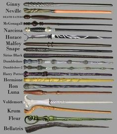 Las varitas de Harry Potter