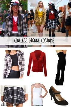 Halloween Costume Ideas: How to dress like Dionne from Clueless for Halloween (great last-minute costume idea!)