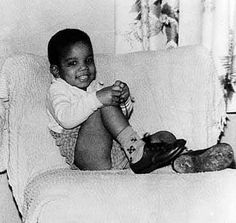 MIchael Jackson, 1961. Look how adorable and cute he was! <3