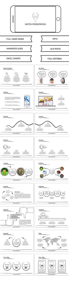 Modern google slide business presentation template for report and - business reporting templates