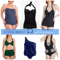 Vintage style bathing suits