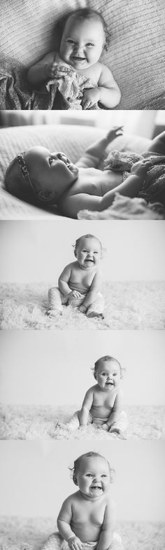 6 Month Girl Studio Lucy Jane Photography | Adelaide Wedding, Child, Newborn, Family and Baby Photographer » Adelaide Photographer Lucy Jane Photography's custo...