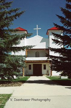 St. Anthony's Church in Questa NM by Visenhowerphoto on Etsy, $18.00