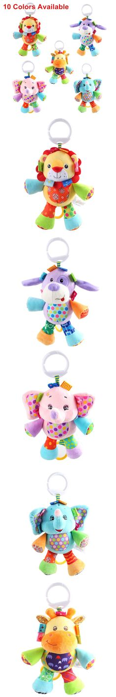 SOZZY Kids Baby Toys 0-12 Months For Newborn Baby Rattles Animal Plush Stroller Mobiles Pram Bed Hanging Toy Educational Juguete