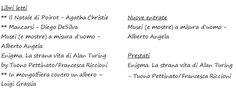 In viaggio con elipisto: Diario di una lettrice (quasi) per bene - Gennaio ...
