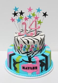 Cake Decorating Ideas Gymnastics : 1000+ ideas about Gymnastics Birthday Cakes on Pinterest ...