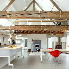 Barn House Interiors pole barn homes interior | architecture, gash wide barns converted