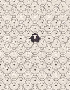the black sheep | via art of overwhem