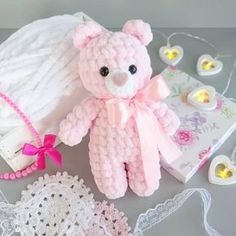 Free pattern for Crochet bears amigurumiLittle bears amigurumi is a plush crochet toy. Free amigurumi pattern by Julia Deinega.Amigurumi Soft Bär Gratis Muster Source by ayeyldrArms (make R 2 ch, 6 sc in second ch from hook R sc, inc)× 3 R 9 sc rowSelec Crochet Animal Amigurumi, Crochet Baby Toys, Crochet Bear, Free Crochet, Baby Knitting, Amigurumi Doll, Crochet Teddy Bear Pattern Free, Crochet Animals, Crochet Dolls Free Patterns