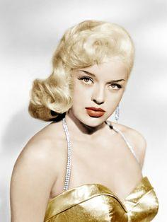 diana portraits | Diana Dors, Universal Pictures portrait, ca. 1957 Premium Poster at ...