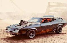 Mad Max Fury Road Interceptor.