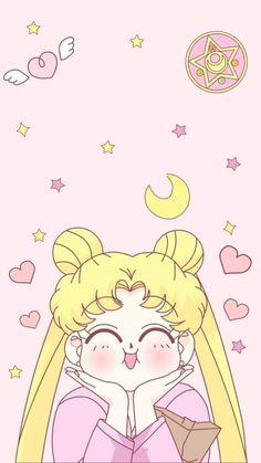 Usagi sailor moon wallpaper for phone Sailor Moons, Sailor Moon Crystal, Sailor Moon Fond, Arte Sailor Moon, Sailor Moon Usagi, Kawaii Wallpaper, Cartoon Wallpaper, Iphone Wallpaper, Trendy Wallpaper