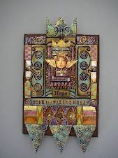 cool shrines......style Laurie Mika www.northidahorubberstamp.com