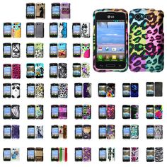 lg zone 3 phone cases. new pattern hard back skin case cover for lg optimus zone 2 fuel in cell phones \u0026 accessories, phone cases, covers skins lg 3 cases e