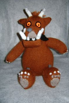 Knitted Gruffalo!