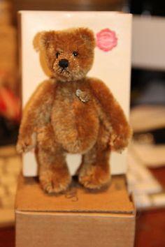 hermann teddy miniature *Michael-ltd ed:    047*152040-rare // Photo via Ebay