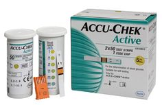 Accu-Chek Active Test Strips - 100 Glucometer (50*2 Pack) Buy Online at Best Price in India: BigChemist.com