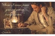 *SWOON*    Jamie to Claire, Cross Stitch/Outlander