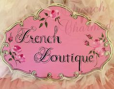 French Boutique Sign