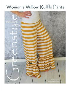 Looking for your next project? You're going to love Greenstyle Willow Ruffle Pant Pattern by designer GreenStyleCreations. - via @Craftsy