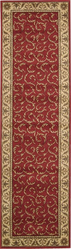 """Somerset Red Area Rug 2' x 5'9"""""""