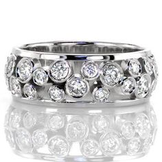 Mens Diamond Wedding Bands Cartier time Second Hand Jewellery Near Me before Jewellery Exchange Warden And Eglinton unless Jewellery Repair Shop underneath Mens White Gold Diamond Wedding Bands On Sale Eternity Ring Diamond, Diamond Bands, Diamond Jewelry, Diamond Cuts, Black Diamond, Wide Diamond Wedding Bands, Solitaire Diamond, Eternity Bands, Right Hand Rings