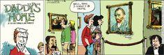#Selfie! | Daddy's Home on GoComics.com #humor #comics
