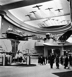 Le Palais de l'Air, Exposition Internationale des Arts et Techniques dans la Vie Moderne (Paris-1937) : Illustration by Geo Ham. http://culturedarm.com/1937-paris-international-exposition/ https://en.wikipedia.org/wiki/Exposition_Internationale_des_Arts_et_Techniques_dans_la_Vie_Moderne