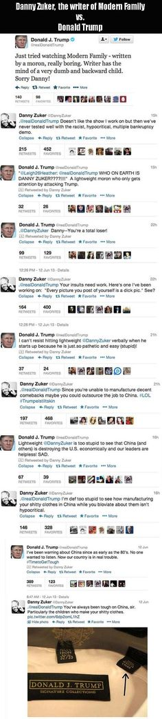 Donald Trump vs. The Writer For Modern Family Is The Funniest Thing I've Read All Day! – 10 Pics