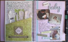 Baby's+1st+Memory+Book+-+Page+4-5 - Scrapbook.com