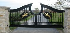 Welcome Home! Anderson Gate - contemporary - outdoor products - other metro - Schulte Studios, Inc.-- LOVE this!!!