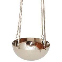 hanging tealight bowl