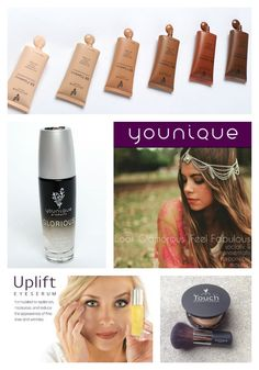 Make the switch to Younique: socially and environmentally responsible makeup. The products are paraben free, chemical free, never tested on animals and hypoallergenic.