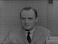 What's My Line? - Goodson & Todman; Bob Newhart; Buddy Hackett [panel] (Feb 4, 1962) - YouTube