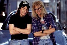 Wayn and Garth. Early 90's