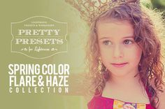 Pretty Presets for Adobe Lightroom!  Plus, lots of FREE tutorials and downloads.  www.lightroompresets.com