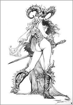 Esteban Maroto. Illustrator extraordinaire.