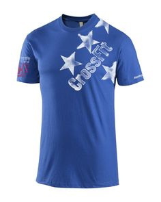 CrossFit HQ Store- Independence Tee - Men Buy Authentic CrossFit T-Shirts, CrossFit Gear, Accessories and Clothing