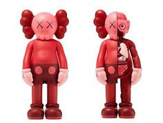 KAWS COMPANION BLUSH x FLAYED OPEN EDITION Official Worldwide Release | The Toy Chronicle