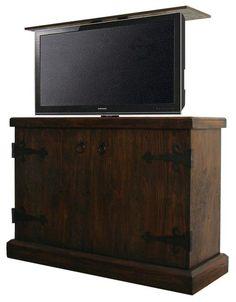 how to make a tv lift cabinet diy pinterest tvs dresser and
